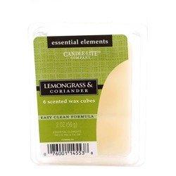 Candle-lite Essential Elements Wax Melts Essential Oil 2 oz 56 g - Lemongrass & Coriander