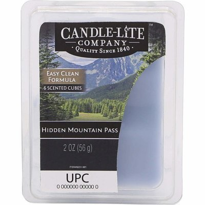 Candle-lite Everyday Collection wax melts 2 oz 56 g - Hidden Mountain Pass