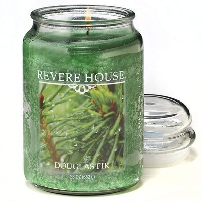 Candle-lite Revere House Large Jar Glass Scented Candle 23 oz 652 g - Douglas Fir