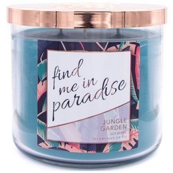 Colonial Candle Luxe large soy scented candle 3 wicks 14.5 oz 411 g - Find Me In Paradise
