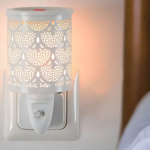 Electric wax burner Bamako for socket white