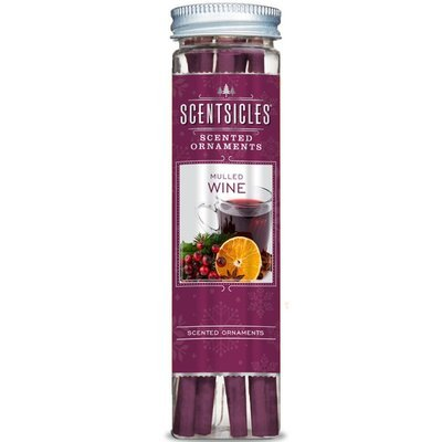 Enviroscent Scentsicles Scented Ornaments 6 pcs - Mulled Wine