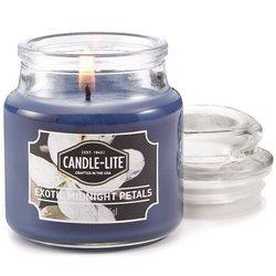 Candle-lite Everyday mała świeca zapachowa w szkle z pokrywką 95/60 mm 85 g - Exotic Midnight Petals