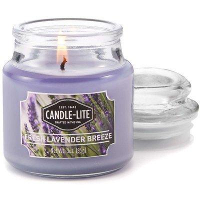 Candle-lite Everyday mała świeca zapachowa w szkle z pokrywką 95/60 mm 85 g - Fresh Lavender Breeze