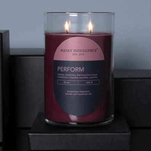 Colonial Candle Contemporary męska sojowa świeca zapachowa w szkle 22 oz 623 g - Perform