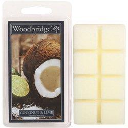 Woodbridge wosk zapachowy kostki 68 g - Coconut & Lime