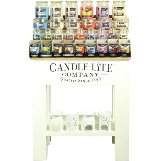 Candle-lite Paulownia Small ekspozytor średni stół