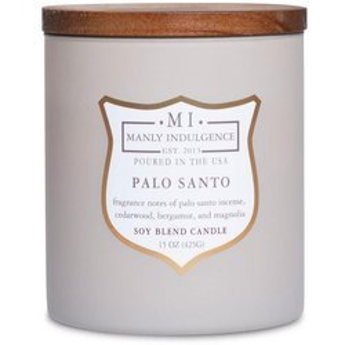Colonial Candle sojowa świeca zapachowa w szkle drewniany knot 15 oz 425 g - Palo Santo