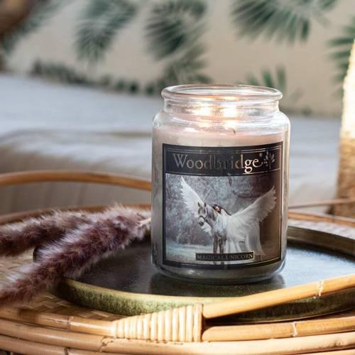 Woodbridge świeca zapachowa w słoju duża 2 knoty 565 g - Magical Unicorn